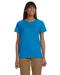 Sapphire Women's 6 oz. Ultra Cotton® T-Shirt