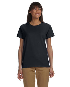 Black Women's 6 oz. Ultra Cotton® T-Shirt