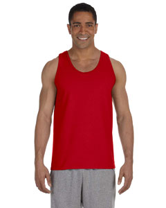 Red Ultra Cotton® 6 oz. Tank
