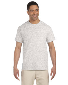 Ash Grey Ultra Cotton® 6 oz. Pocket T-Shirt