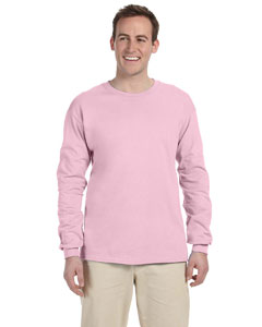 Light Pink Ultra Cotton® 6 oz. Long-Sleeve T-Shirt