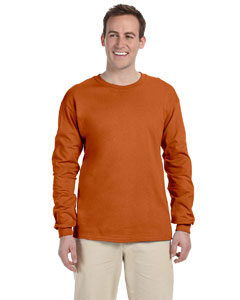Texas Orange Ultra Cotton® 6 oz. Long-Sleeve T-Shirt