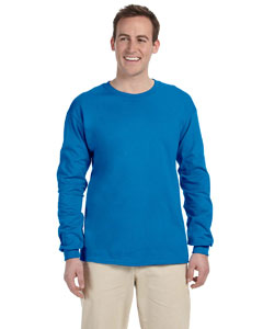 Sapphire Ultra Cotton® 6 oz. Long-Sleeve T-Shirt