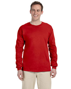 Red Ultra Cotton® 6 oz. Long-Sleeve T-Shirt