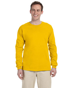 Gold Ultra Cotton® 6 oz. Long-Sleeve T-Shirt