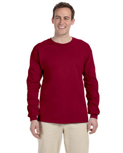 Cardinal Red Ultra Cotton® 6 oz. Long-Sleeve T-Shirt
