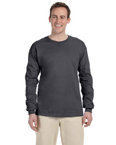 Dark Heather Ultra Cotton® 6 oz. Long-Sleeve T-Shirt