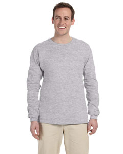 Sport Grey Ultra Cotton® 6 oz. Long-Sleeve T-Shirt