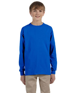 Royal Ultra Cotton® Youth 6 oz. Long-Sleeve T-Shirt