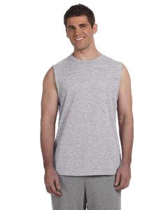 Sport Grey Ultra Cotton® 6 oz. Sleeveless T-Shirt