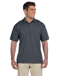 Charcoal Ultra Cotton® 6 oz. Jersey Polo