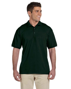 Forest Green Ultra Cotton® 6 oz. Jersey Polo