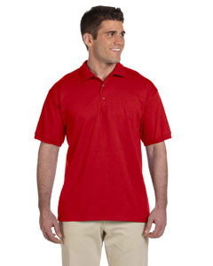 Red Ultra Cotton® 6 oz. Jersey Polo