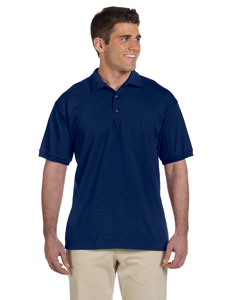 Navy Ultra Cotton® 6 oz. Jersey Polo