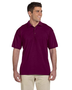 Maroon Ultra Cotton® 6 oz. Jersey Polo