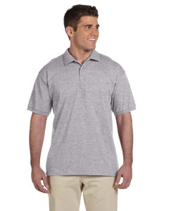 Sport Grey Ultra Cotton® 6 oz. Jersey Polo
