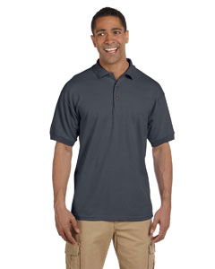 Charcoal Ultra Cotton® 6.5 oz. Pique Polo