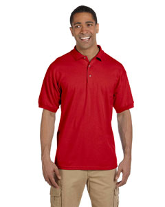 Red Ultra Cotton® 6.5 oz. Pique Polo