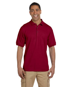 Cardinal Red Ultra Cotton® 6.5 oz. Pique Polo