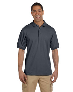 Dark Heather Ultra Cotton® 6.5 oz. Pique Polo