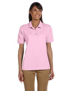 Light Pink Women's 6.5 oz. Ultra Cotton™ Piqué Polo