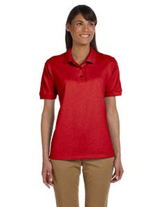 Red Women's 6.5 oz. Ultra Cotton™ Piqué Polo