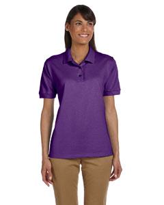 Purple Women's 6.5 oz. Ultra Cotton™ Piqué Polo