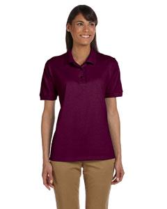 Maroon Women's 6.5 oz. Ultra Cotton™ Piqué Polo