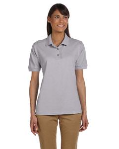 Sport Grey Women's 6.5 oz. Ultra Cotton™ Piqué Polo