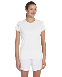 White Women's 4.5 oz. Performance T-Shirt