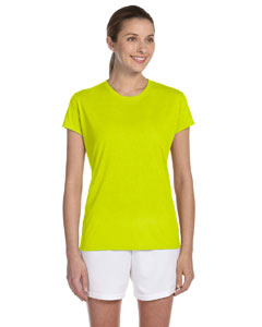 Safety Green Women's 4.5 oz. Performance T-Shirt