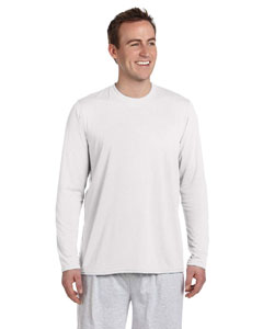 White Performance™ 4.5 oz. Long-Sleeve T-Shirt