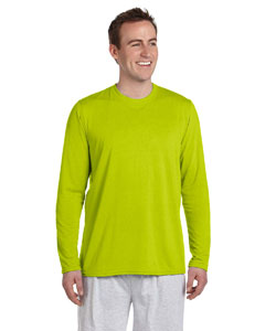 Safety Green Performance™ 4.5 oz. Long-Sleeve T-Shirt