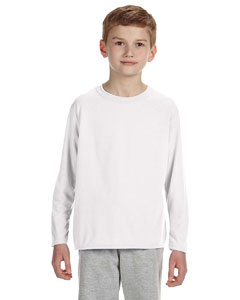 White Performance™ Youth 4.5 oz. Long-Sleeve T-Shirt
