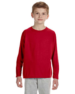 Red Performance® Youth 4.5 oz. Long-Sleeve T-Shirt