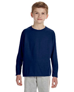 Navy Performance™ Youth 4.5 oz. Long-Sleeve T-Shirt