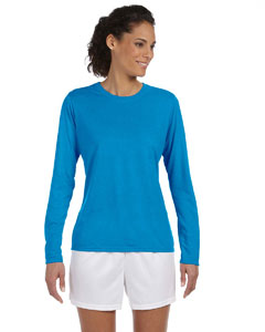 Sapphire Women's 4.5 oz. Performance Long-Sleeve T-Shirt