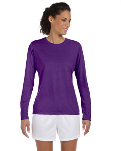Purple Women's 4.5 oz. Performance Long-Sleeve T-Shirt