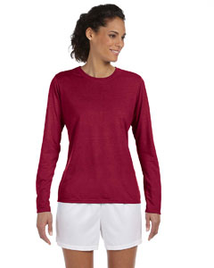 Cardinal Red Women's 4.5 oz. Performance Long-Sleeve T-Shirt