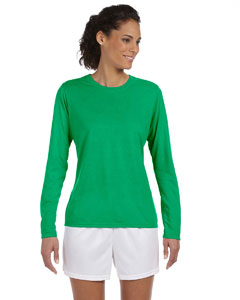 Irish Green Women's 4.5 oz. Performance Long-Sleeve T-Shirt