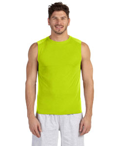 Safety Green Performance™ 4.5 oz. Sleeveless T-Shirt