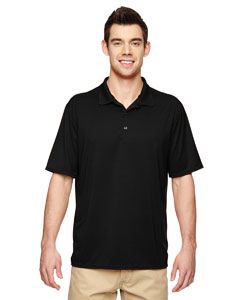 Black Performance® Adult 4.7 oz. Jersey Polo