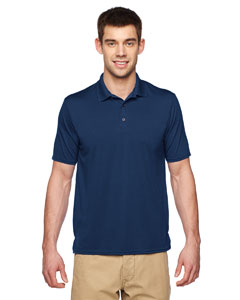 Marble Navy Performance® Adult 4.7 oz. Jersey Polo