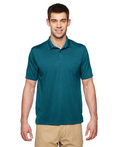 Marble Galp Blue Performance® Adult 4.7 oz. Jersey Polo