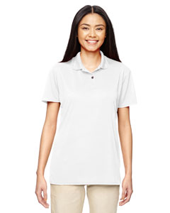 White Performance™ Ladies' 4.7 oz. Jersey Polo