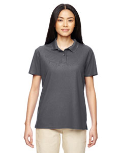 Marble Charcoal Performance™ Ladies' 4.7 oz. Jersey Polo