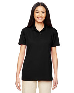 Black Performance™ Ladies' 4.7 oz. Jersey Polo
