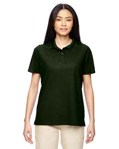 Marbl Forest Grn Performance™ Ladies' 4.7 oz. Jersey Polo