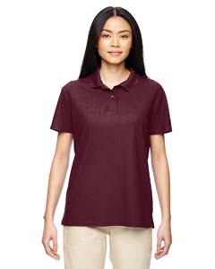 Marble Maroon Performance™ Ladies' 4.7 oz. Jersey Polo