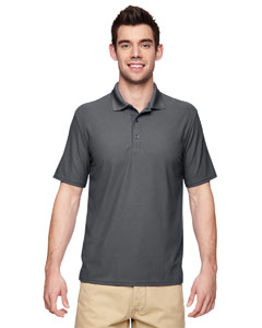 Charcoal Performance® Adult 5.6 oz. Double Piqué Polo